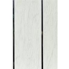 Панель ПВХ Мастер Декор Софитто 2 3000х200х8 мм Ольха серая