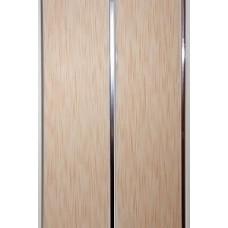 Панель ПВХ Мастер Декор Софитто 2 3000х200х8 мм Хром штрих персик