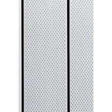 Панель ПВХ Мастер Декор Софитто 2 3000х200х8 мм Точки серые