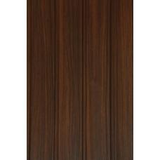Панель Ламинированная Фигурная Мастер Декор 2700х250х8 Тик шоколадный