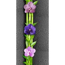 "Панель ПВХ Кронапласт ""Крона"" (термоперевод) 2700х250х9 мм Ночная орхидея"