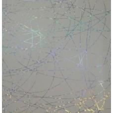 "Панель ПВХ Кронапласт ""Крона"" голография (термоперевод) 2700х250х9 мм Паутина кремовая"