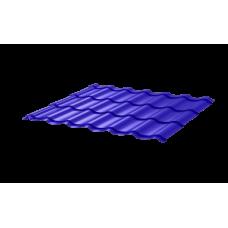 Металлочерепица Монтеррей СПК 0,4 RAL 5002 Ультрамарин
