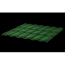 Металлочерепица Монтеррей СПК 0,4 RAL 6005 Зеленый мох