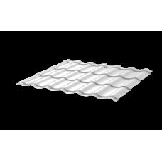 Металлочерепица Монтеррей СПК 0,45 RAL 9003 Сигнально-белый