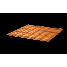 Металлочерепица Монтеррей СПК 0,4 RAL 2003 Нежно-оранжевый