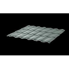 Металлочерепица Монтеррей Ретро СПК 0,45 RAL 7004 Сигнально-серый