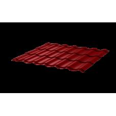 Металлочерепица СуперМонтеррей СПК 0,4 RAL 3011 Коричнево-красный