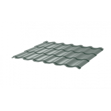 Металлочерепица СуперМонтеррей СПК 0,4 RAL 7004 Сигнально-серый