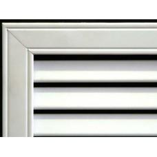 Радиаторные решетки ПВХ 600х600 Белый