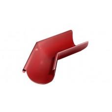 Угол желоба внешний 135˚ GrandLine 125 мм RAL 3011 Коричнево-красный