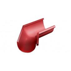 Угол желоба внутренний 135˚ GrandLine 125 мм RAL 3011 Коричнево-красный