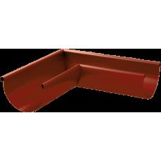 Угол желоба AquaSystem 125 наружный RAL3009 Красный оксид