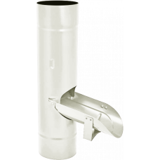 Водосборник AquaSystem 100 RR20 Белый