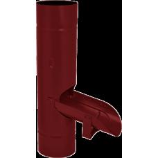 Водосборник AquaSystem 100 RR28 Темно-красный