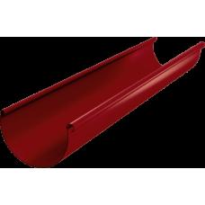 Желоб водосточный AquaSystem 125 3м RR29 Красный