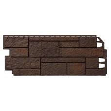Фасадный сайдинг VOX SOLID SANDSTONE Dark Brown