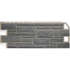 Фасадный сайдинг Альта-Профиль Камень Серый