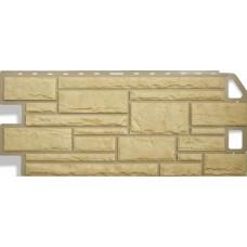 Фасадный сайдинг Альта-Профиль Камень Желтый