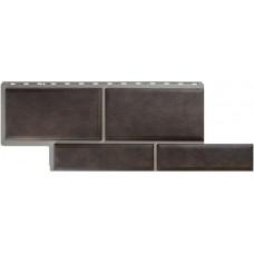 Фасадный сайдинг Альта-Профиль Камень Флорентийский Коричневый