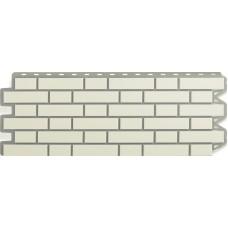 Фасадный сайдинг Альта-Профиль Кирпич клинкерный Белый