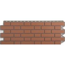 Фасадный сайдинг Альта-Профиль Кирпич клинкерный Красный