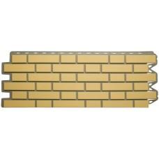 Фасадный сайдинг Альта-Профиль Кирпич клинкерный Жёлтый