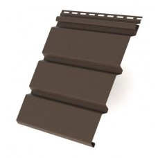 Софит Т4 GL Лайт 3*0,303м (0,91м2) с центральной перфорацией (коричневый) по цене 346 руб/шт вместо 371 руб/шт