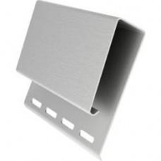 J-профиль широкий (наличник) GrandLine 3,0м белый