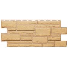 Фасадная панель Т-Сайдинг Дикий камень Бежевый