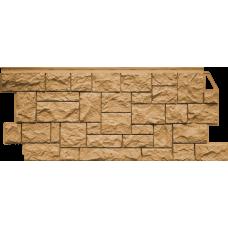Фасадная панель FineBer Камень дикий Песочный