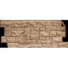 Фасадная панель FineBer Камень дикий Терракотовый