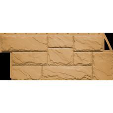 Фасадная панель FineBer Камень крупный Песочный