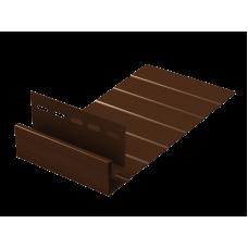J-фаска Ю-пласт 3,0м Коричневый
