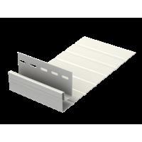 J-фаска (ветровая доска) U-plast 3,0м Белая