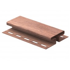 H-Планка Ю-пласт Timberblock 3,0м Дуб мореный