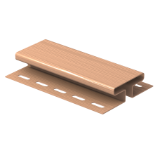 H-планка Ю-пласт 3,0м Розовый