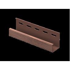 J-Планка Timberblock Ю-пласт 3,0м Дуб мореный