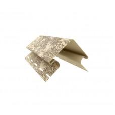 Наружный угол U-plast кирпич песочный