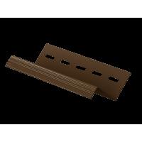 Сливная планка U-plast коричневая