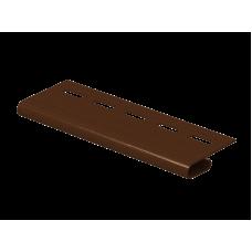 Завершающая планка Ю-пласт 3,0м Коричневый