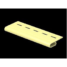 Завершающая планка Ю-пласт 3,0м Кремовый