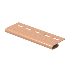 Завершающая планка Ю-пласт 3,0м Розовый